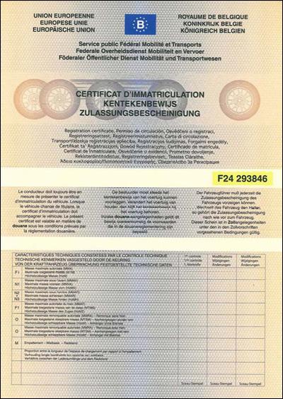 Comment compléter le formulaire de demande d'immatriculation?