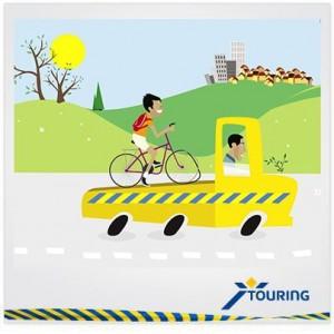 Touring lance l'assistance vélo Touring Bike